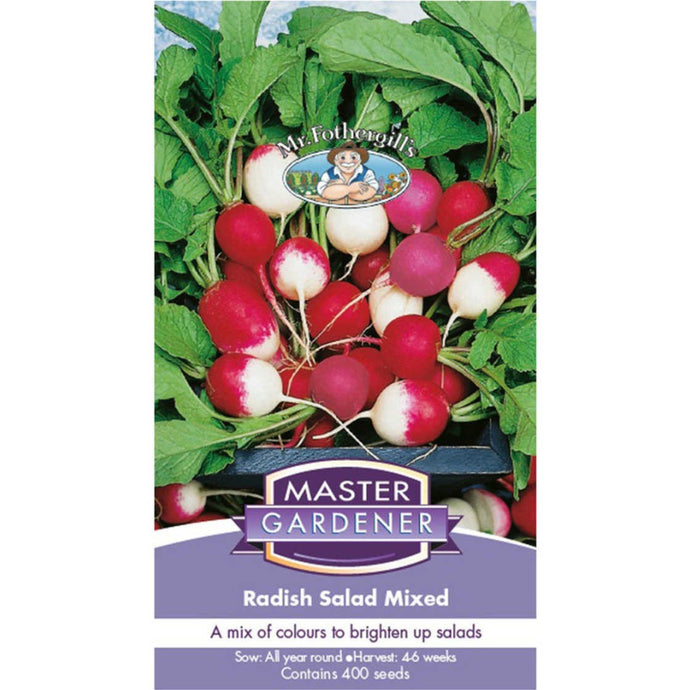MASTER GARDENER Seeds - Radish Salad Mix