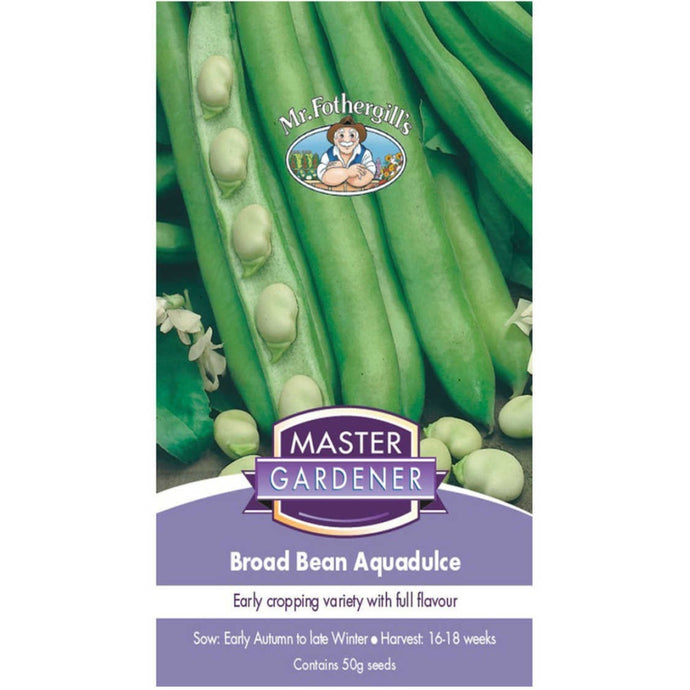 MASTER GARDENER Seeds - Broad Bean Aquadulce