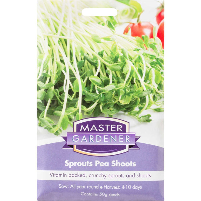 MASTER GARDENER Seeds - Sprouts Pea Shoots - (Not to TAS)