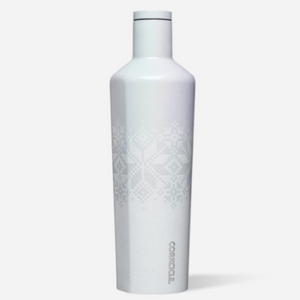 CORKCICLE | Stainless Steel Insulated Canteen 25oz (740ml) - FairIsle White Unicorn Magic