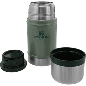 STANLEY | CLASSIC 700ml Insulated Food Jar - Hammertone Green