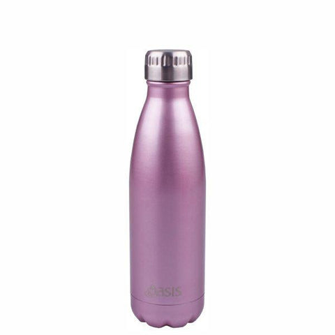 Oasis  |  Stainless Insulated Drink Bottle 500ml - Blush