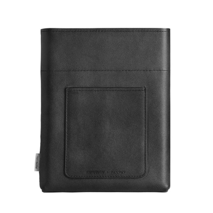 MEMOBOTTLE | Leather Sleeve A5 - Black