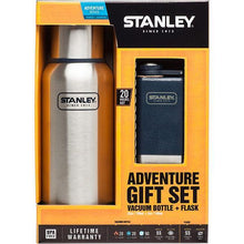 Load image into Gallery viewer, STANLEY | ADVENTURE Gift Set: Bottle & Flask - Brushed Stainless Steel