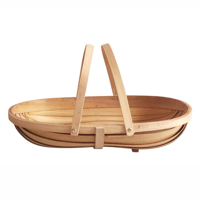 MARTHA'S VINEYARD Handmade Wooden Sussex Trug