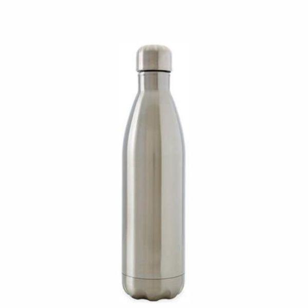 OASIS Water Bottle 500ml Stainless Insulated - Silver