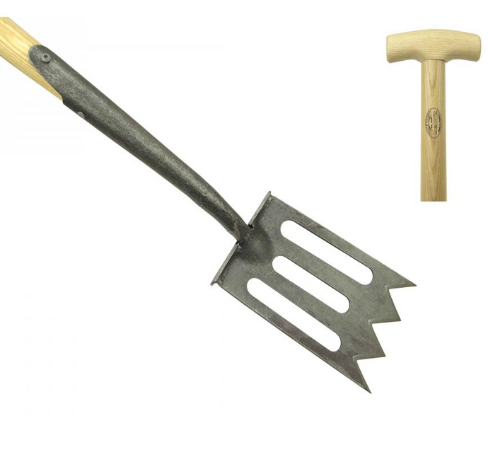 DEWIT | Gardening Spork - 800mm Ash T-Handle