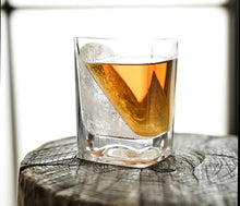Load image into Gallery viewer, CORKCICLE | Whiskey Wedge - Glass and Silicone Ice Mould Set