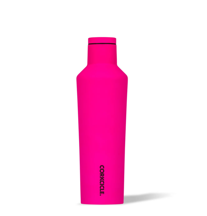 CORKCICLE | Stainless Steel Insulated Canteen 25oz (740ml) - Neon Pink