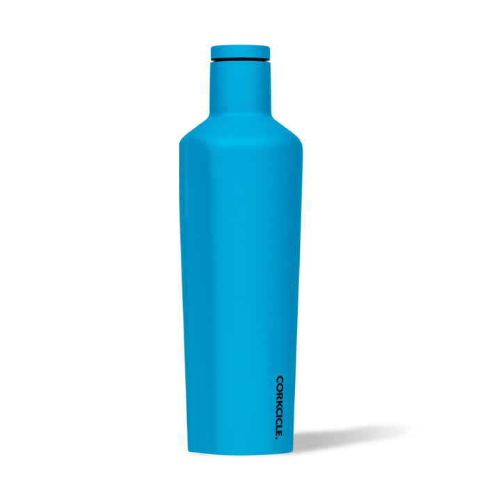 CORKCICLE | Stainless Steel Insulated Canteen 25oz (740ml) - Neon Blue