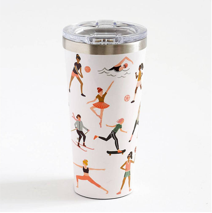 CORKCICLE x RIFLE | Stainless Steel Insulated Tumbler 16oz (470ml) - Sports Girls