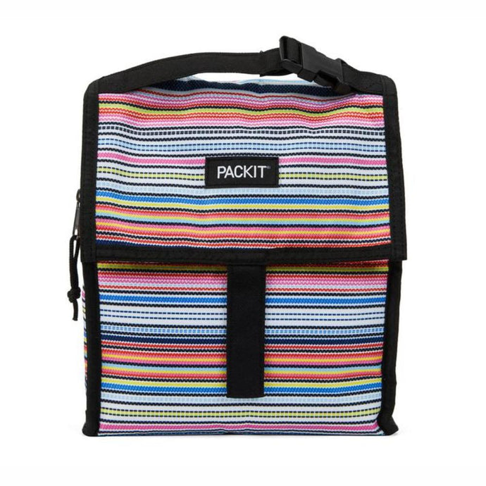 PACKIT® | Freezable Lunch Bag 4.5L - BLANKET STRIPE