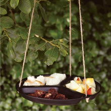 Load image into Gallery viewer, A SHORT WALK ECO Food Waste Table - Bird Feeder in use