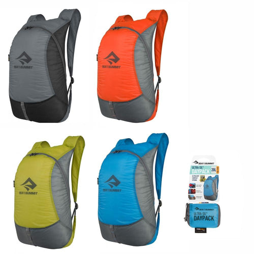 SEA TO SUMMIT | ULTRA-SIL Daypack Lightweight Collapsible Backpack, 20L