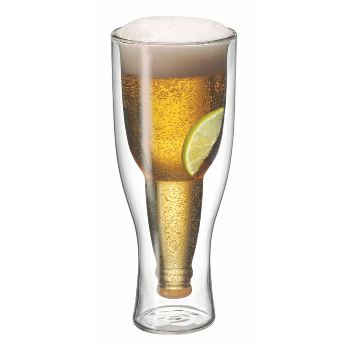 AVANTI | TOP UP! Twin Wall Beer Glass 400ml