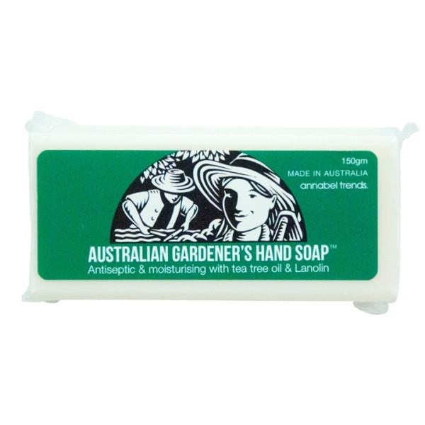 Hand soap for gardeners in packet