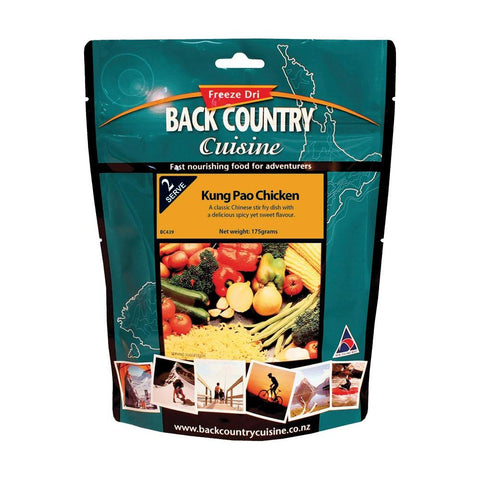 BACK COUNTRY CUISINE | Freeze Dried Camp Food - Kung Pao Chicken