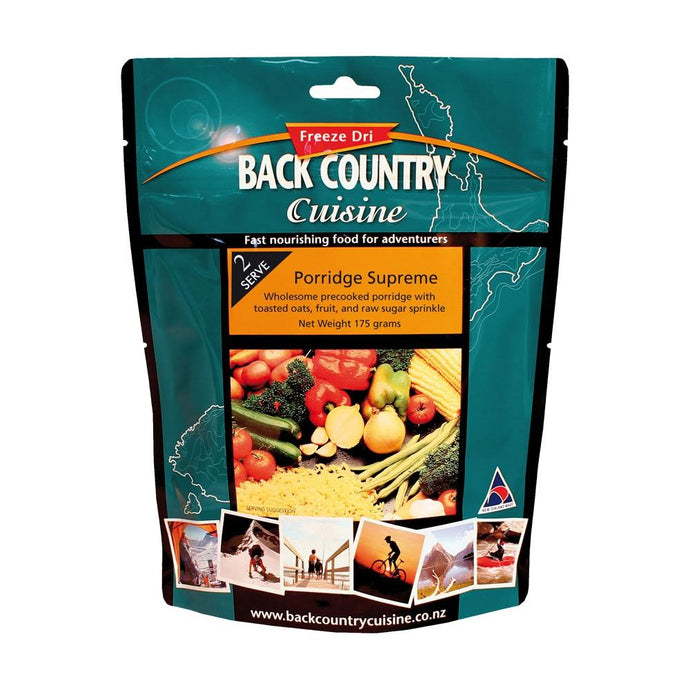 BACK COUNTRY CUISINE | Freeze Dried Camp Food - Porridge Supreme