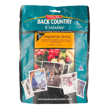 Load image into Gallery viewer, BACK COUNTRY CUISINE | Freeze Dried Camp Food - GF Vegetarian Stirfry