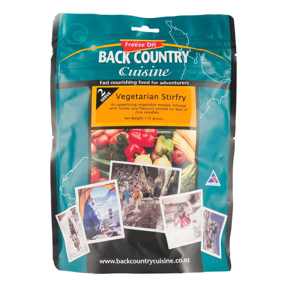 BACK COUNTRY CUISINE | Freeze Dried Camp Food - GF Vegetarian Stirfry