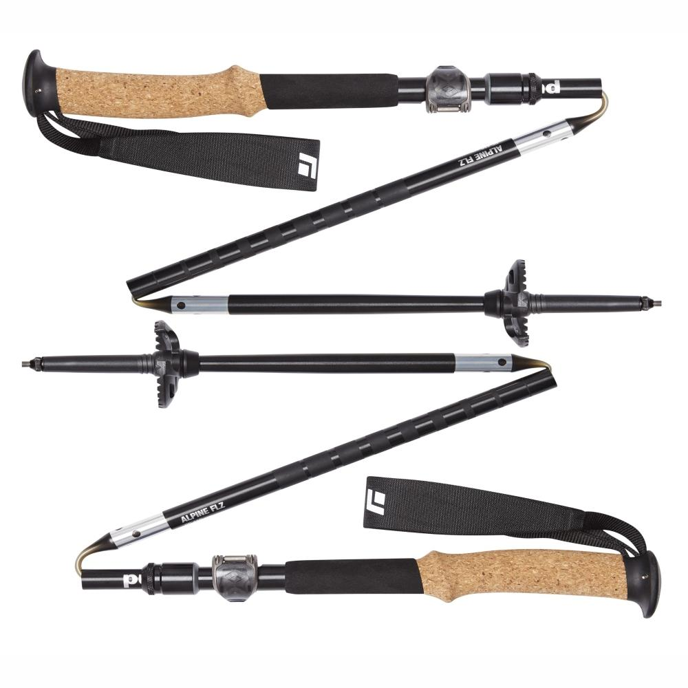 BLACK DIAMOND | ALPINE FLZ18 Aluminium Cork Trekking Poles - Pair