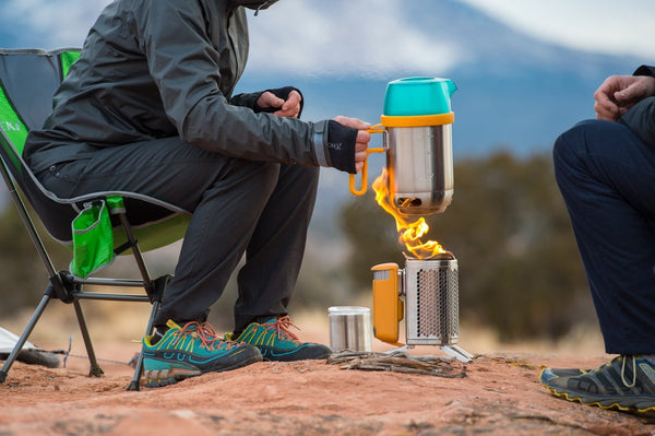 Camping with the BIOLITE KettlePot