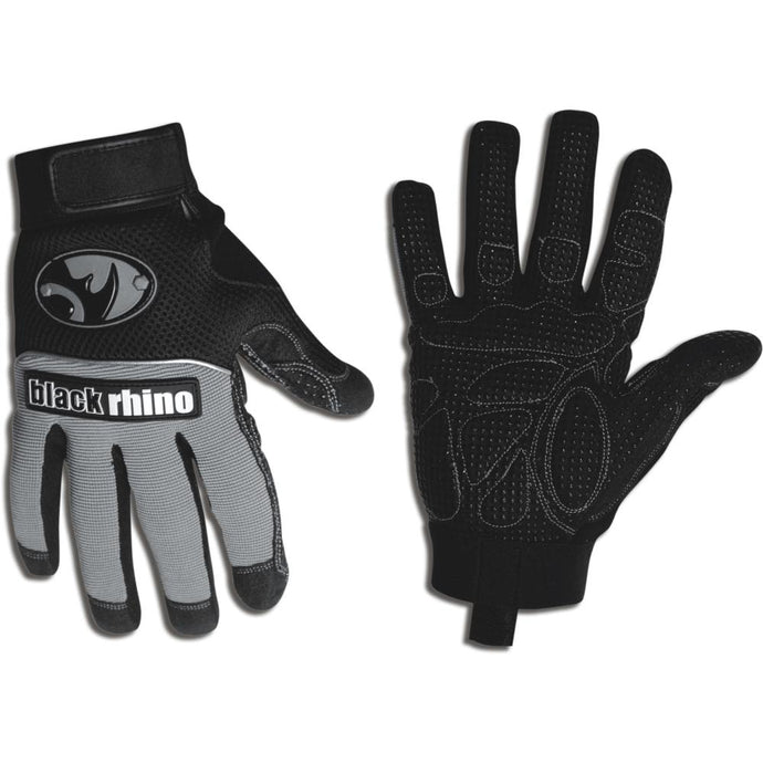 BLACK RHINO | SHOXTR Lite 'Anti-Vibration' Synthetic Leather Work Gloves - Pair