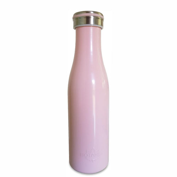 Light Pink Pastel Insulated Bottle with packaging