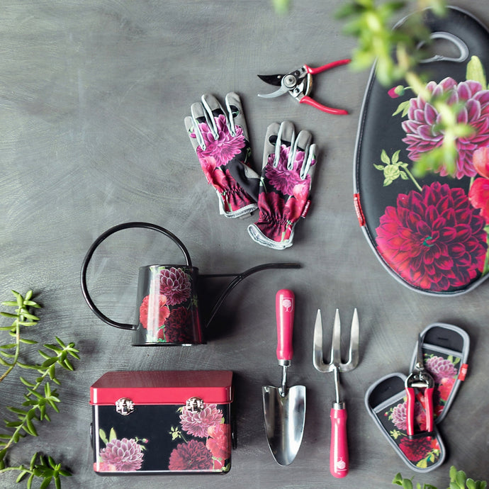 BURGON & BALL | British Bloom 'Dahlia' Botanical Art Gardener's Gift Set - Deluxe