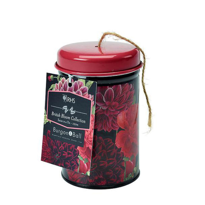 BURGON & BALL | British Bloom 'Dahlia' Twine in a Tin