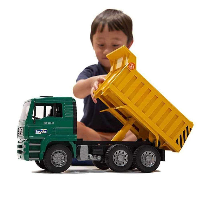 BRUDER MAN TGA Tip Up Truck 1:16