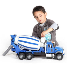 Load image into Gallery viewer, BRUDER MACK Granite Cement Mixer 1:16