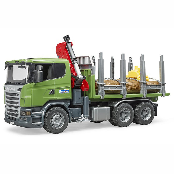 BRUDER Scania R-series Timber truck with 3 logs 1:16