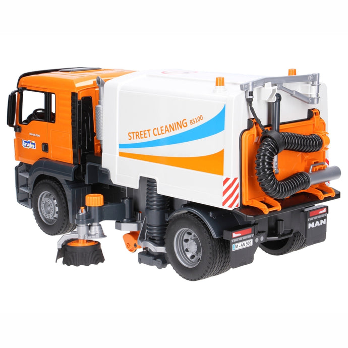 BRUDER MAN TGS Toy Street Sweeper