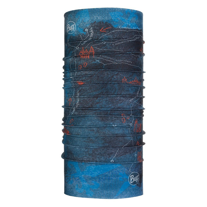 BUFF® | Coolnet UV+ Multifunction Tubular Neckwear Camino de Santiago - Peninsula Denim