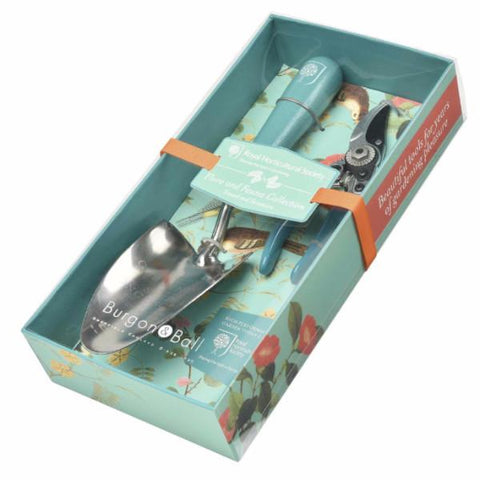 BURGON & BALL  |  Flora & Fauna Gift Set - Trowel and Secateurs