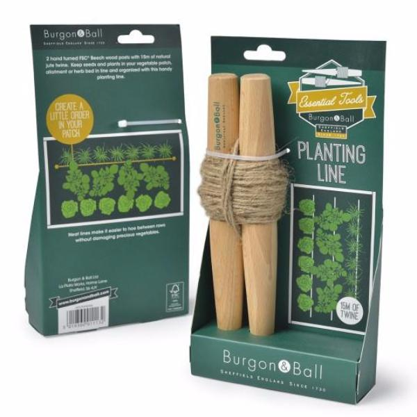 BURGON & BALL | Planting Line packaging