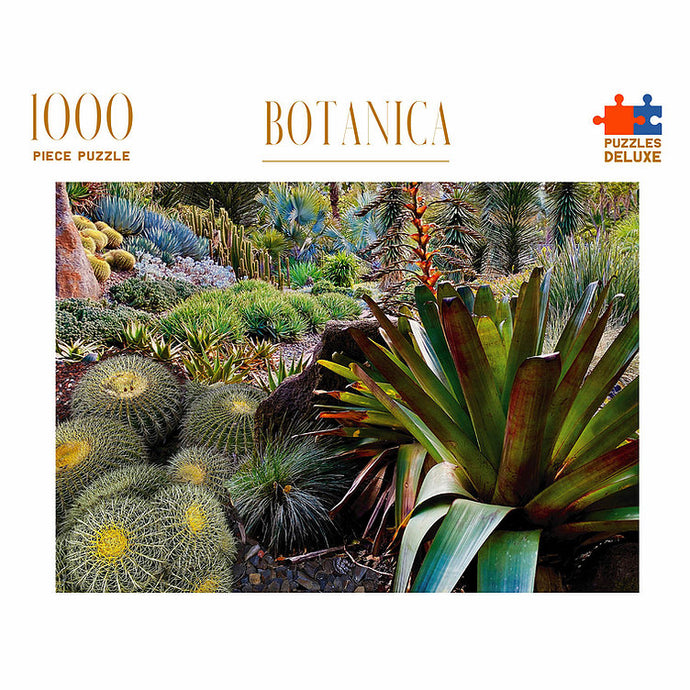 PUZZLES DELUXE 1000 Piece Jigsaw Puzzle - Botanica
