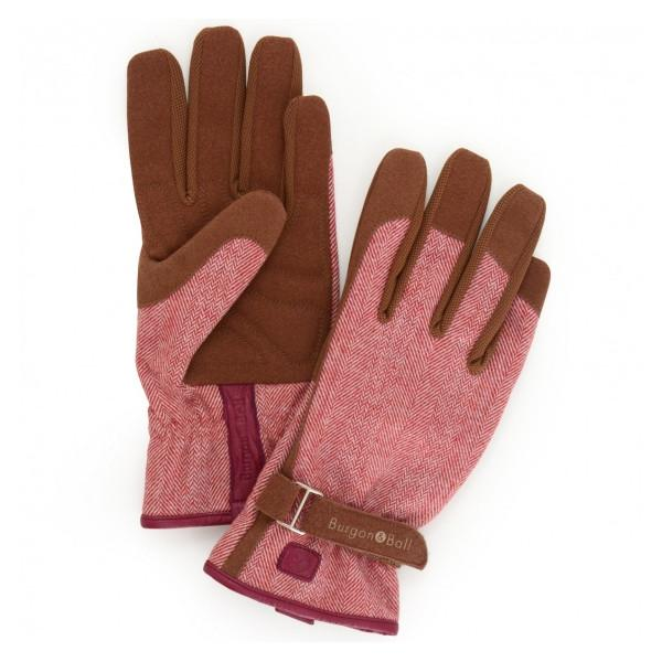 BURGON & BALL  |  Love the Glove - Red Tweed S/M