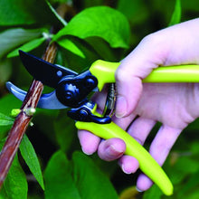 Load image into Gallery viewer, BURGON & BALL  |  Micro Secateurs - Green in action