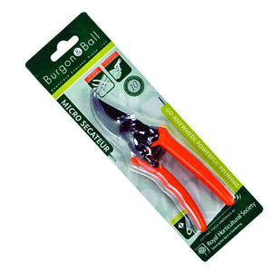 BURGON & BALL  |  Micro Secateurs - Terracotta in pack