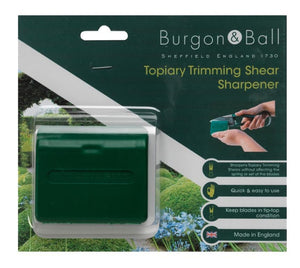 BURGON & BALL |  Topiary Pruning Shear Sharpener pack