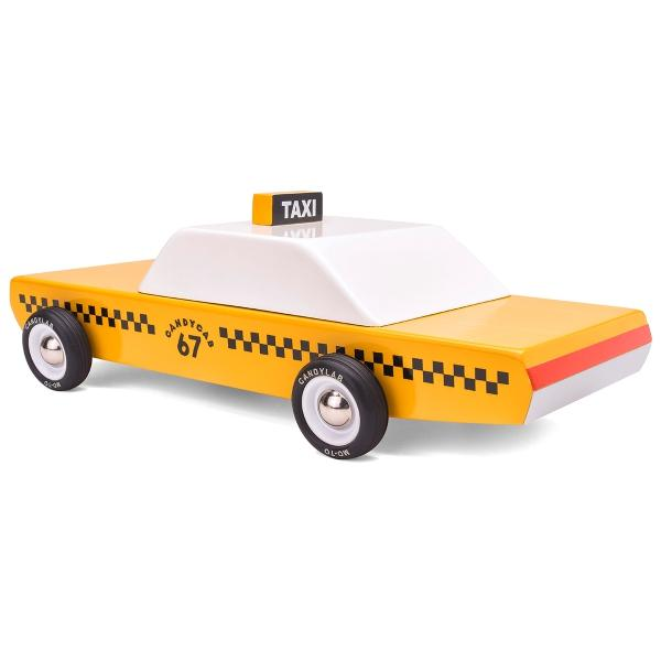 CANDYLAB | CandyCab Taxi Wooden Toy Car