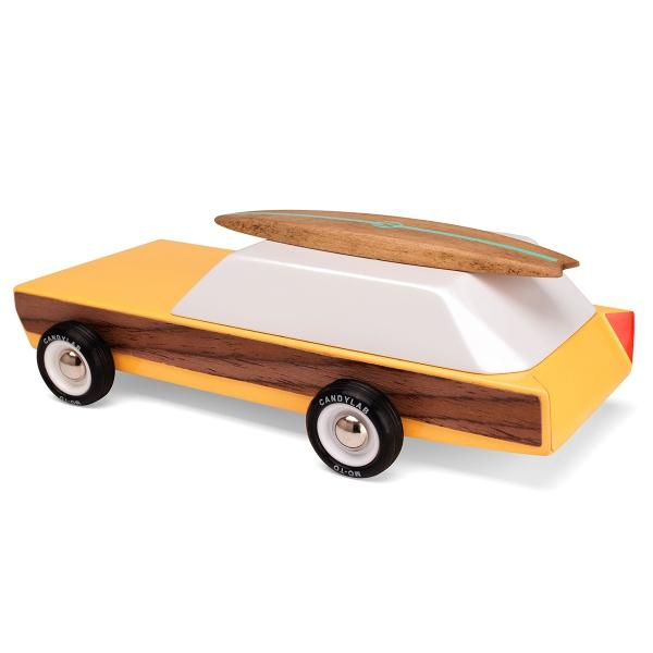 CANDYLAB | Woody Wooden Toy Car
