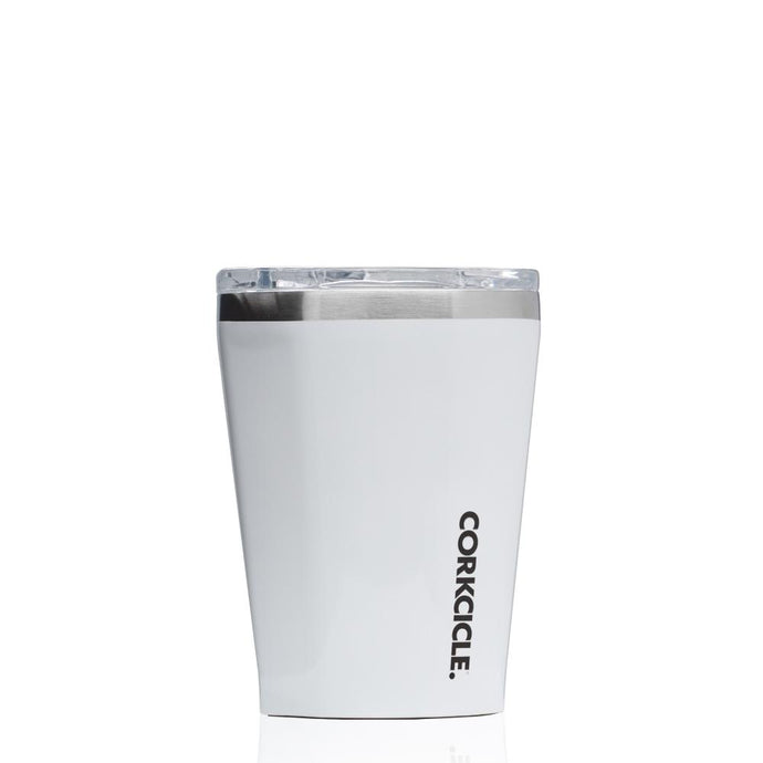 CORKCICLE | Stainless Steel Insulated Tumbler 12oz Gloss White