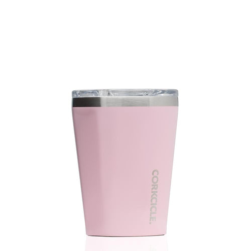 CORKCICLE | Stainless Steel Insulated Tumbler 12oz Rose Quartz