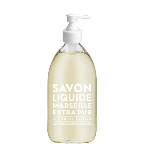 COMPAGNIE DE PROVENCE | Extra Pur Liquid Soap, 500mL - Cotton Flower