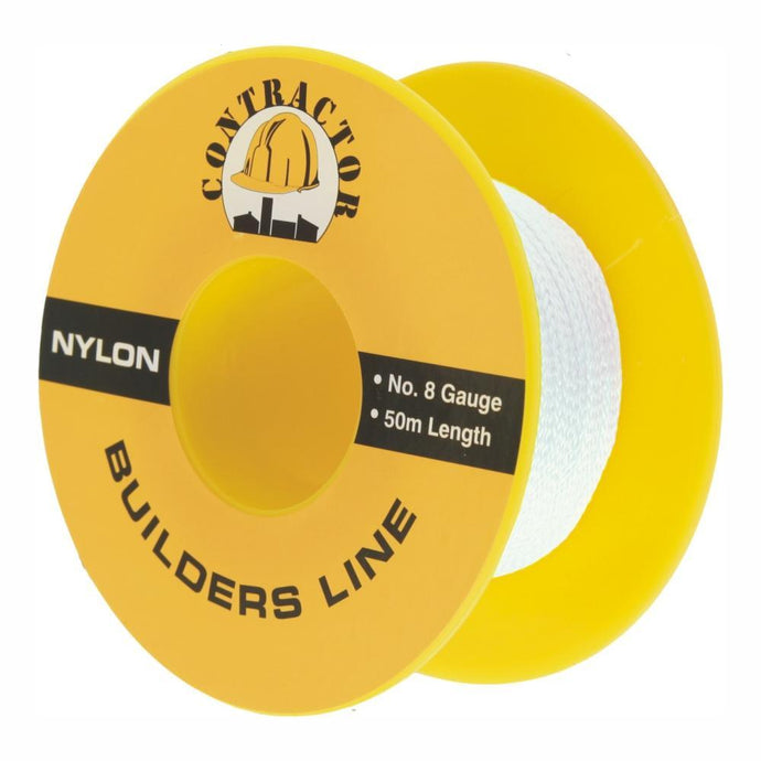CONTRACTOR - Builders String Line #8 50m White