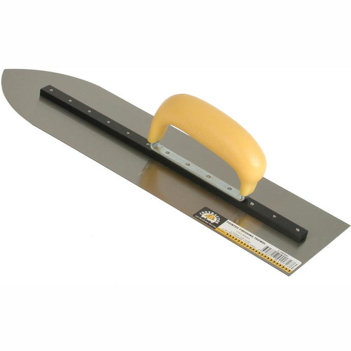 CONTRACTOR - Pointed Concrete Finishing Trowel - 600mm
