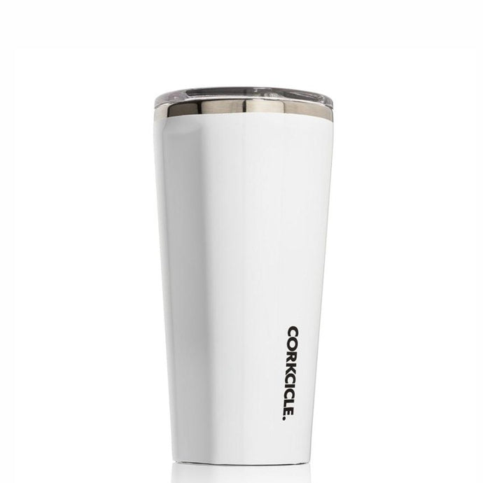 CORKCICLE | Stainless Steel Insulated Tumbler 16oz - Gloss White